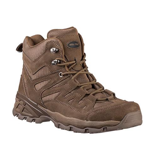 Mil-Tec Squad Støvler brun – 5 inch