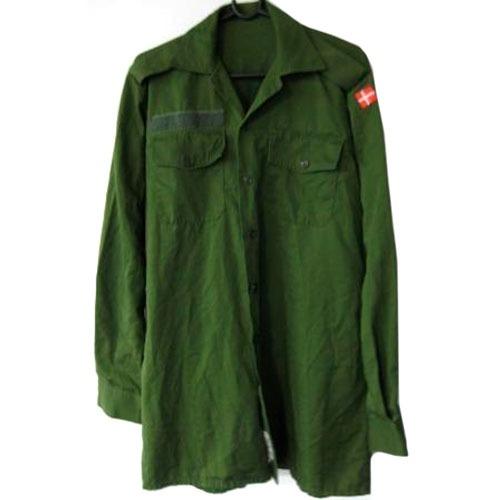 Langærmet M/84 skjorte brugt