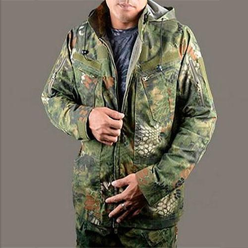Jakke i kryptek camouflage