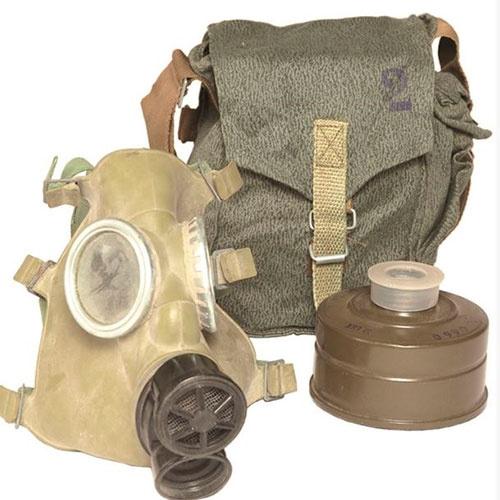 Polsk beskyttelsesmaske med taske