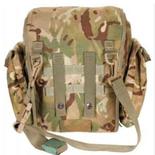Engelsk MTS taske til beskyttelsemaske – Brugt