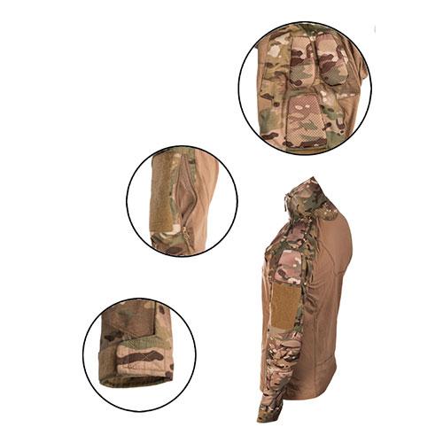 armywear MIL-TEC Chimera kampskjorte Multicam