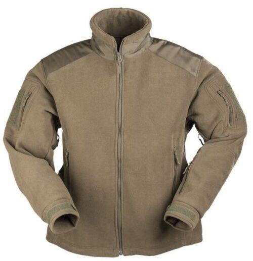 Delta fleece jakke oliven