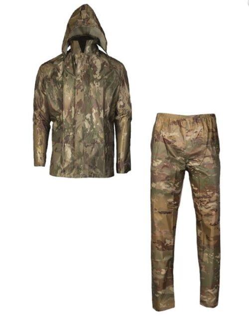 Regntøj i MTS (jakke og bukser)