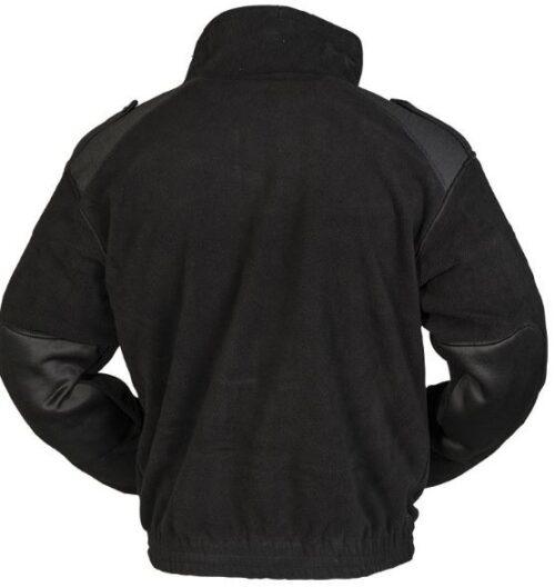 Mil-Tec fleecejakke/trøje sort